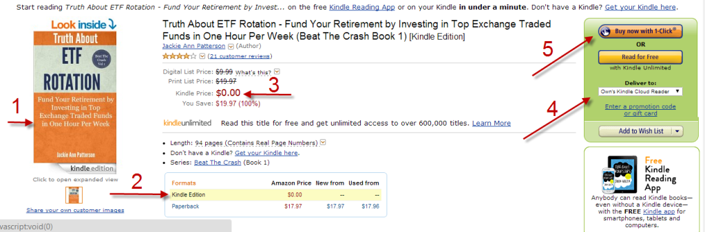 How to Download A Free Kindle Book